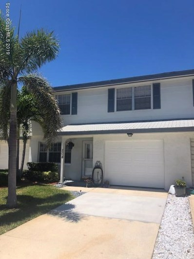 204 N Emerald Drive, Indian Harbour Beach, FL 32937 - MLS#: 845868