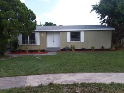 705 Angle Street, Palm Bay, FL 32905 - MLS#: 847603
