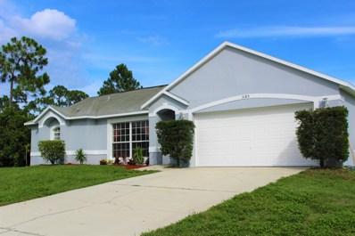 3185 Tilden Road, Palm Bay, FL 32909 - #: 848499