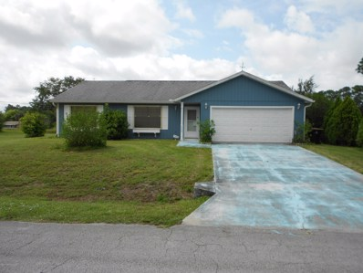 1488 Manzanita Street, Palm Bay, FL 32907 - MLS#: 850223