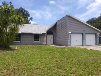1435 Giles Street, Palm Bay, FL 32907 - MLS#: 850841