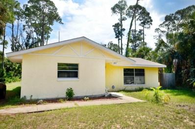 2821 India Palm Drive, Edgewater, FL 32141 - MLS#: 1048327