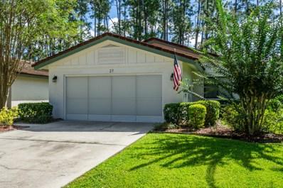 27 Lago Vista Place, Palm Coast, FL 32164 - MLS#: 1048607
