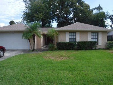 1743 Jacobs Road, South Daytona, FL 32119 - MLS#: 1050422