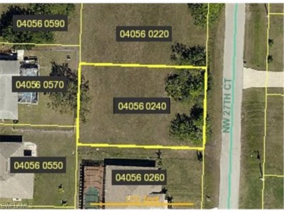 1148 27th CT, Cape Coral, FL 33993 - MLS#: 215017600