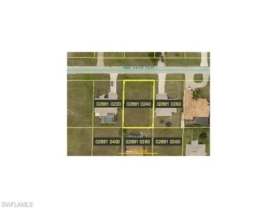 1100 14th TER, Cape Coral, FL 33993 - MLS#: 215052613