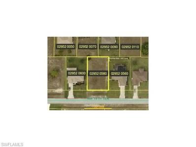 1121 18th TER, Cape Coral, FL 33993 - MLS#: 215052642