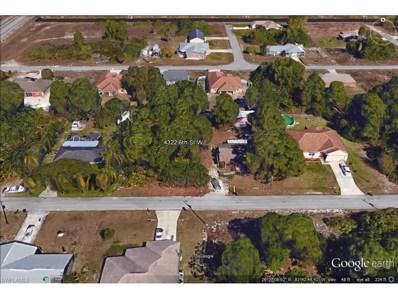 4322 6th W ST, Lehigh Acres, FL 33971 - MLS#: 215061641
