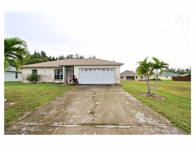 130 19th TER, Cape Coral, FL 33991 - MLS#: 217045710