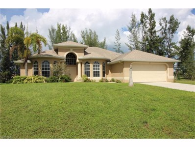 627 22nd TER, Cape Coral, FL 33991 - MLS#: 217059776