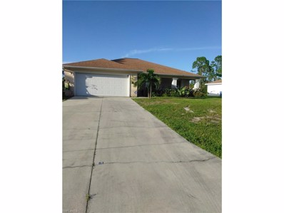 3404 68th W ST, Lehigh Acres, FL 33971 - MLS#: 217064801