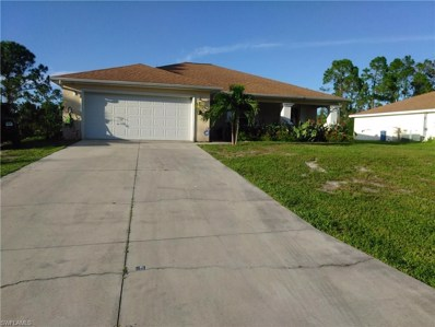 3406 68th W ST, Lehigh Acres, FL 33971 - MLS#: 217065027