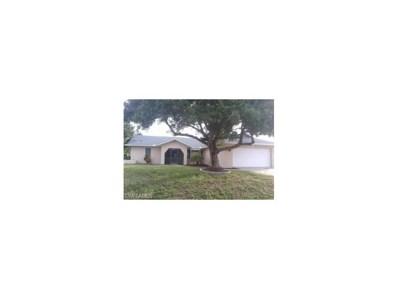 481 3rd PL, Cape Coral, FL 33909 - MLS#: 217067092