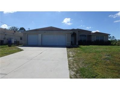 3213 64th W ST, Lehigh Acres, FL 33971 - MLS#: 217068826
