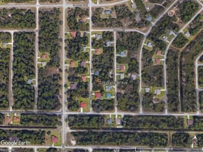 229 Wanatah AVE, Lehigh Acres, FL 33974 - MLS#: 218006828
