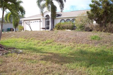 1005 33rd ST, Cape Coral, FL 33914 - MLS#: 218013412