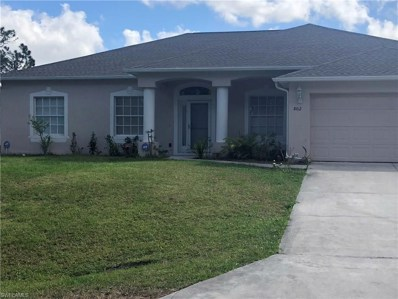 802 Leroy S AVE, Lehigh Acres, FL 33972 - MLS#: 218014800