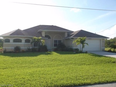 3721 17th PL, Cape Coral, FL 33914 - MLS#: 218016074