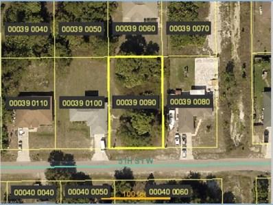 3802 5th W ST, Lehigh Acres, FL 33971 - MLS#: 218016457