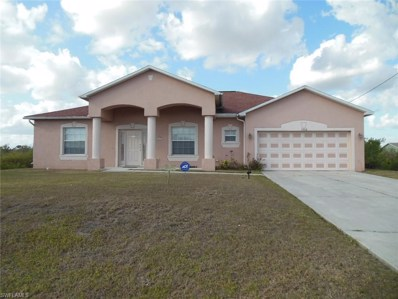 3006 27th Sw ST, Lehigh Acres, FL 33976 - MLS#: 218018404