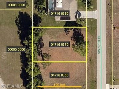 3416 17th PL, Cape Coral, FL 33914 - MLS#: 218022980