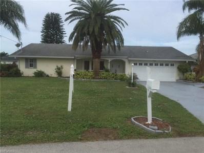 3906 13th AVE, Cape Coral, FL 33904 - MLS#: 218024983