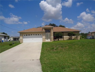 912 Apple AVE, Lehigh Acres, FL 33971 - MLS#: 218025917