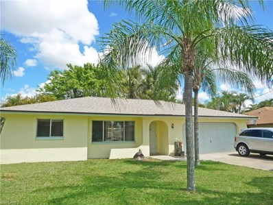 1125 15th TER, Cape Coral, FL 33990 - MLS#: 218025992