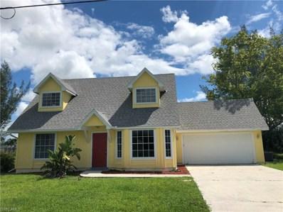 1815 6th AVE, Cape Coral, FL 33991 - MLS#: 218027769