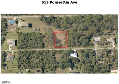 613 Poinsettia AVE, Lehigh Acres, FL 33972 - MLS#: 218027799