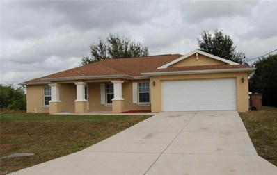 707 Ferguson S AVE, Lehigh Acres, FL 33974 - MLS#: 218028235