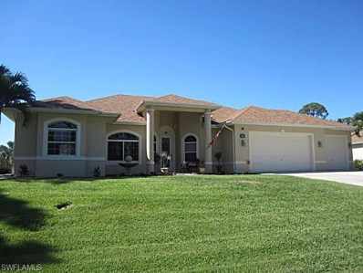 644 Parkdale BLVD, Lehigh Acres, FL 33974 - MLS#: 218029236