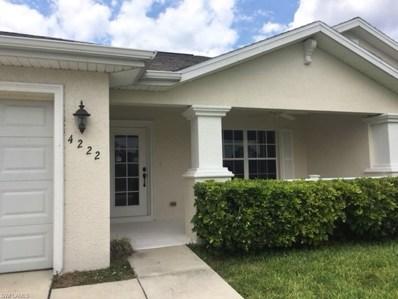 4222 Ramsey BLVD, Cape Coral, FL 33909 - MLS#: 218030838