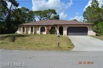 4306 4th W ST, Lehigh Acres, FL 33971 - MLS#: 218031410