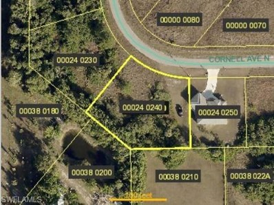 1713 Cornell N AVE, Lehigh Acres, FL 33971 - MLS#: 218031707