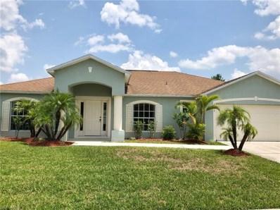 2502 Nature Pointe LOOP, Fort Myers, FL 33905 - MLS#: 218032282