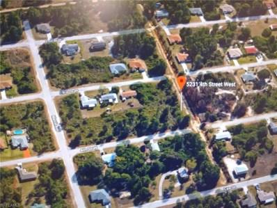 5231 4th W ST, Lehigh Acres, FL 33971 - MLS#: 218032307