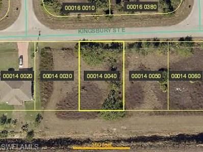 612 Kingsbury E ST, Lehigh Acres, FL 33974 - MLS#: 218033726