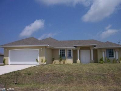 3723 1st LN, Cape Coral, FL 33991 - MLS#: 218034759