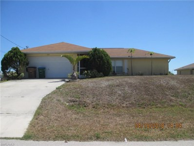 1622 32nd TER, Cape Coral, FL 33914 - MLS#: 218034999