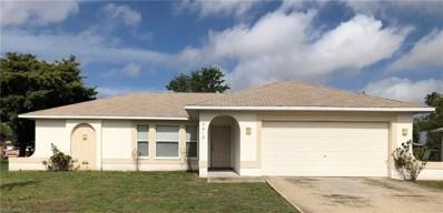 3412 Santa Barbara PL, Cape Coral, FL 33914 - MLS#: 218036763