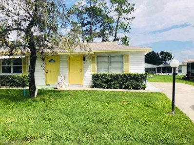 2 Pinewood BLVD, Lehigh Acres, FL 33936 - MLS#: 218037389
