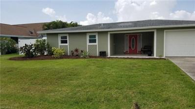1134 16th TER, Cape Coral, FL 33990 - MLS#: 218038313