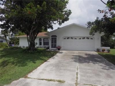 1223 19th LN, Cape Coral, FL 33990 - MLS#: 218039728