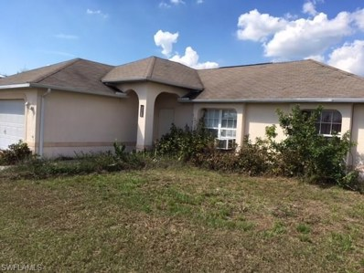 2908 66th W ST, Lehigh Acres, FL 33971 - MLS#: 218039930