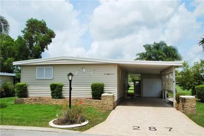 287 Boros DR, North Fort Myers, FL 33903 - #: 218040195