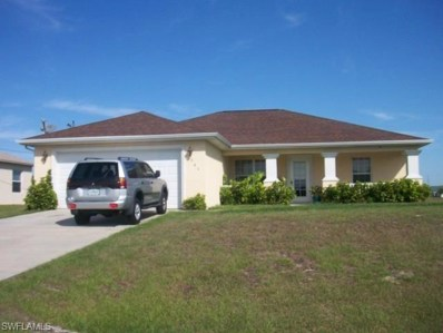 341 20th TER, Cape Coral, FL 33909 - #: 218040978