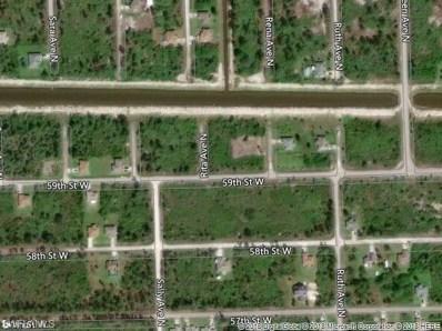 5900 Rita N AVE, Lehigh Acres, FL 33971 - MLS#: 218041592