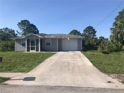 3205 68th W ST, Lehigh Acres, FL 33971 - MLS#: 218042563