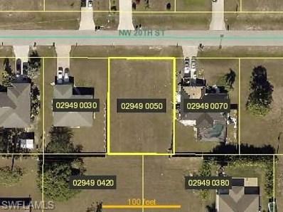 1238 20th ST, Cape Coral, FL 33993 - MLS#: 218042740